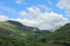 Lake District National Park Little Langdale Cumbria Stock Images