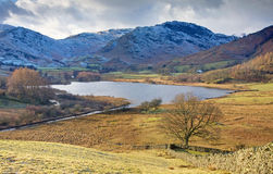 Little Langdale Tarn Stock Photography