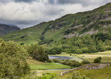 Little Langdale Tarn Stock Photo