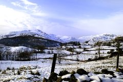 The Little Langdale Valley Stock Photos