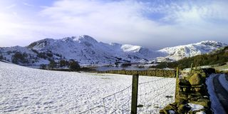The Little Langdale Valley Royalty Free Stock Image