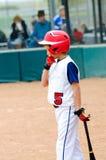 Little league baseball batter Stock Photography