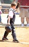 Little League Baseball/Catcher Stock Image