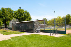 Little League Baseball Field Royalty Free Stock Images