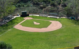 Little League Baseball Field Stock Photo