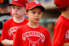 Little League Day at Joseph P. Riley, Jr. Stadium. Stock Photos