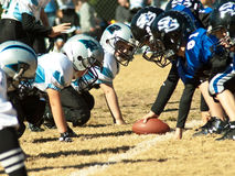 Little League Football Royalty Free Stock Photography