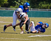 Little League Football, Tackling royalty free stock images