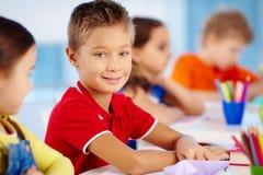Little learner Stock Photo