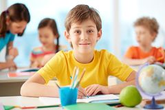 Little learner Royalty Free Stock Photography
