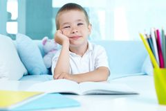 Little learner Stock Image