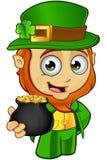Little Leprechaun Character Stock Photo