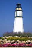 Little Lighthouse in Manistee Stock Photos