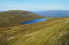 Little loch on the way to Ben Nevis Royalty Free Stock Image