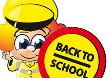 LITTLE LOLLIPOP LADY 2 Stock Images