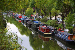 little london venice Royaltyfri Bild