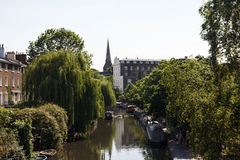 little london venice Royaltyfri Foto