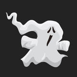 Little Looming Ghost, Vector Illustration Royalty Free Stock Photography