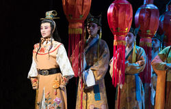 "Little Lord Fauntleroy-The emperor's wedding-Jiangxi opera ""Red pearl"" Royalty Free Stock Images"