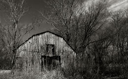 Little Lost Barn Royalty Free Stock Photo