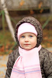 Little lovely girl Stock Images