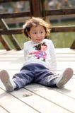 Little lovely girl Stock Photography
