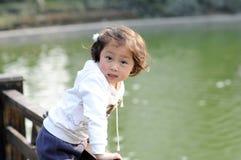 Little lovely girl Stock Photos