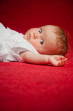 Little lovely newborn Stock Photos