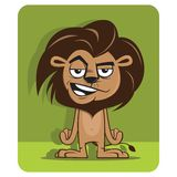 Little mad lion Royalty Free Stock Images