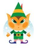 Little magic merry Christmas elf Royalty Free Stock Photos