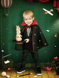 Little magician Stock Images