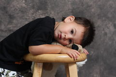 Little Man Royalty Free Stock Photo