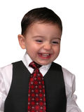 Little Man Series: Salesmen Grin stock photos