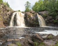 Little Manitou Falls Royalty Free Stock Photos