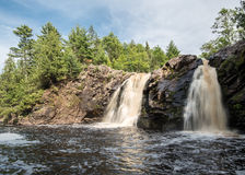 Little Manitou Falls Royalty Free Stock Photography
