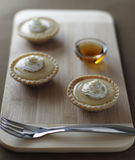 Little maple syrup tart Royalty Free Stock Image
