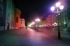 Little Market Square (Maly Rynek) Royalty Free Stock Images