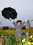 Little Mary Poppins Royalty Free Stock Image