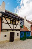 Little medieval houses on Golden Lane,Praha Stock Photography