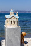 Little memorial chapel in Greece Royalty Free Stock Photo