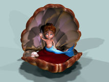 A Little Mermaid stock photography