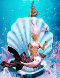 Little Mermaid 3 Stock Photography