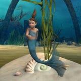 Little mermaid Foto de archivo libre de regalías