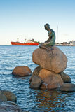 The Little Mermaid. In Copenhagen, Denmark royalty free stock photos