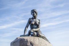 The Little Mermaid. In Copenhagen, Denmark royalty free stock photo