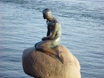 Little mermaid Copenhague Fotografía de archivo libre de regalías