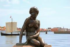 Little mermaid - Copenhague, Dinamarca Imagen de archivo libre de regalías