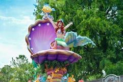 Little mermaid del festival del desfile de la fantasía Fotos de archivo