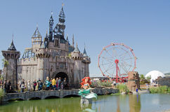 Little Mermaid at Dismaland Stock Photos