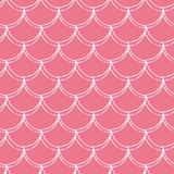 Little mermaid seamless pattern Stock Photography